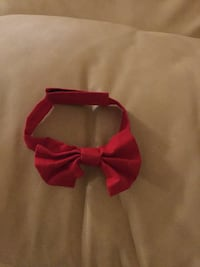 Infant - red bow tie