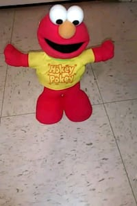 Mini Hokey Pokey Elmo Plush 2004 Rare