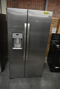 """GE GSS25IYNFS 36"""" Stainless Side By Side Refrigerator #45669 HRT"""