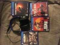 GREAT DEAL! Ps4 with games & T.v for one price! Cheyenne, 82009