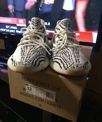 Zebra adidas yeezy boost 350 v2 on box Miami, 33155