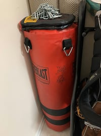 Punching bag with gloves 60 pounds Richmond Hill, L4C 7V4
