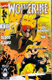 Wolverine Comic issue 35 Palm Springs, 92262