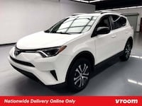 2016 *Toyota* *RAV4* LE hatchback White Los Angeles, 90012