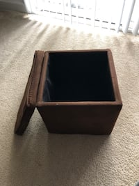 Mini Ottoman with storage Germantown, 20874