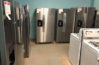 New Stainless steel side and side refrigerator Reisterstown, 21136