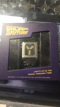 Back to the future flux capacitor watch Brampton, L6X 1M8
