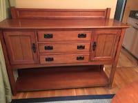 Beautiful, Stickley like buffet GAITHERSBURG
