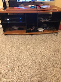 Very well used entertainment center Frederick, 21703