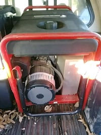 red and black portable generator Knotts Island, 27950