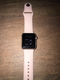 Rose gold series 3, 38mm Apple Watch with extra band Lorton, 22079