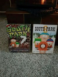 South Park seasons 7 and 8 dvds Calgary, T1Y