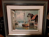 2 x Beautiful  Vintage Oils Signed by the Artists.  Mississauga, L5J 2E3