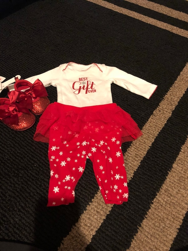 Newborn Christmas Dresses 0 3 Months.Christmas Outfit