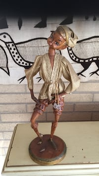 Female in brown long sleeve shirt figurine Park Forest, 60466