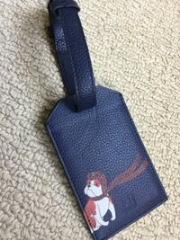Dunhill luggage tag