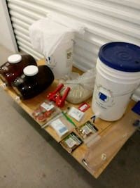 Complete home brewery kit
