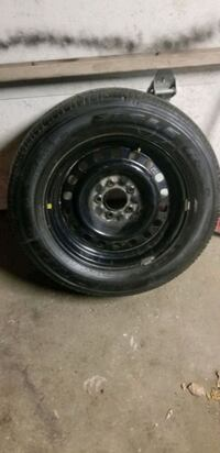Ford wheel and tire