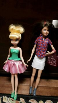 Tinkerbell and Barbie in good condition Vaughan, L4L 2A6