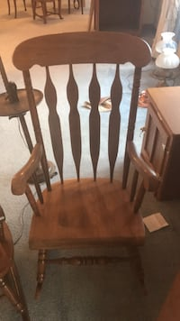 brown wooden windsor rocking chair Severn, 21144