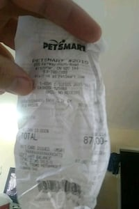 I have a petsmart card with 87 on it i want 40 Kitchener, N2A 1A5
