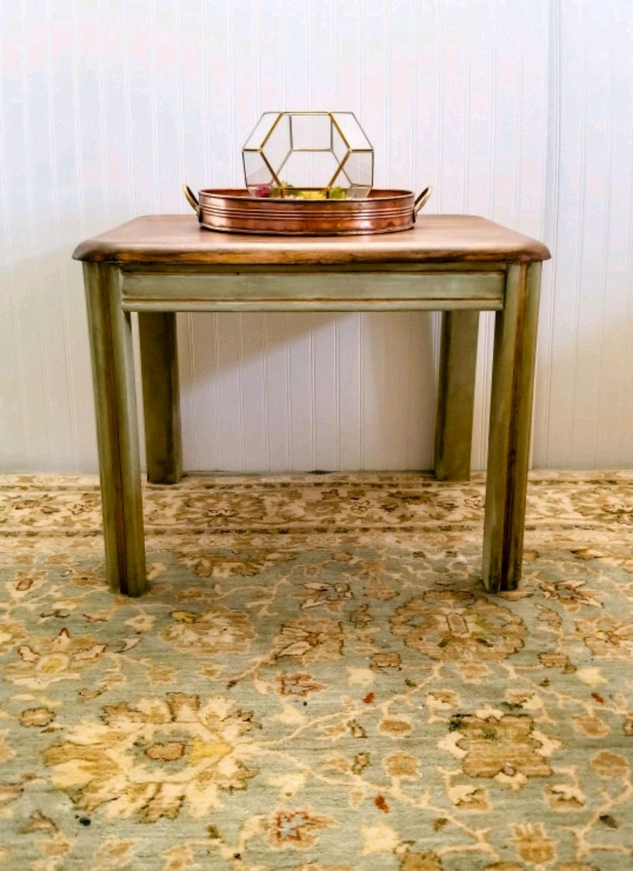 rectangular brown wooden side table for sale  Broomfield