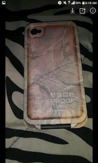 Realtree lifeproof iphone 4 Akron, 44311