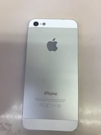 White iphone 5 with case Calgary, T3E 1W4