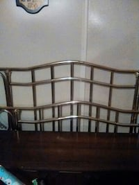 Brass full/queen headboard/footboard