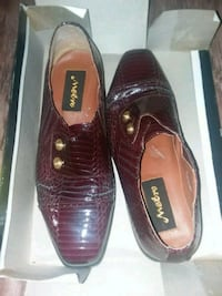 Used maroon shoes