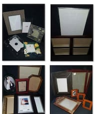 ASSORTED PICTURE FRAMES...  $5 FOR EACH LOT...  Pi EDMONTON