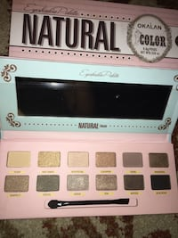 pink Natural Okalan make up palette