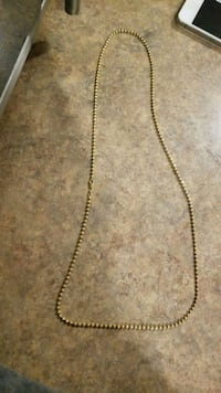gold-colored chain necklace Toronto, M1L 3H9