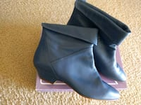 New leather ankle booties-size 7.5  Huntington Beach, 92647