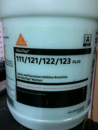 SIKA TOP CORROSION INHIBITOR EMULSION WITH 2 BOTTLES OF ACCELERATOR Welland, L3C 6B6