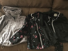 Used, 2 Windbreakers And Zip Up Jacket for sale  Suisun City, CA