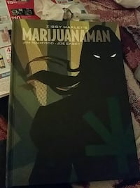 Marijuanaman by Jim Mahfood book