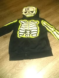 Skelton zipup jacket Dallas