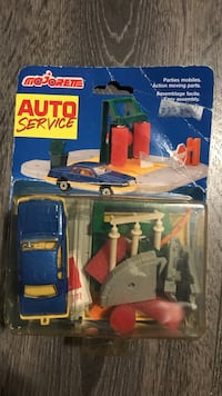 Vintage majorette auto service car wash toy car set mip Richmond, V6Y 4K6