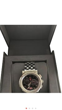 Michele Black diamond stainless steel sport watch  Beverly Hills, 90212
