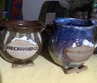 Two ceramic mugs from Breckenridge. New Sebring, 33870