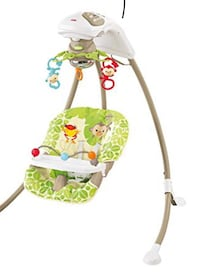Fisher price swing: cradle n swing rainforest friends Toronto, M6K 1X2