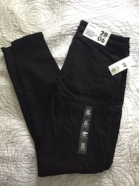 Brand new stretchy moto jeans size 8 Mississauga, L5E 1X7