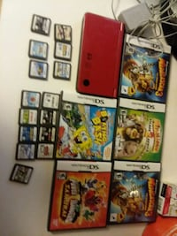 Dsi  xl with all the games