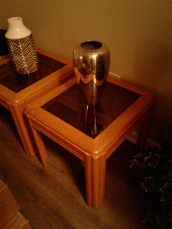 Used Beautiful Solid Oak Coffee Table End Tables 150 For Sale In