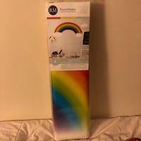 Rainbow and clouds wall decal Edmonton, T6J 4G6