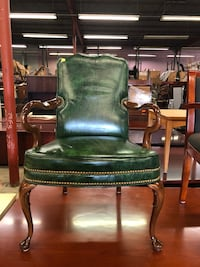 Leather guest chairs  1199 mi
