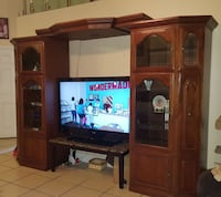 TV entertainment center (tv not included)