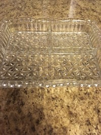 Vintage glass small serving plate beautiful  Silver Spring, 20905