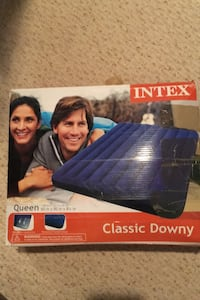 ntex 68759WL Classic Downy Airbed Queen - Blue. Triangle, 22172